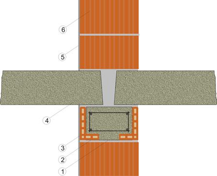 Укладка плит перекрытие на стены из поризованного кирпича